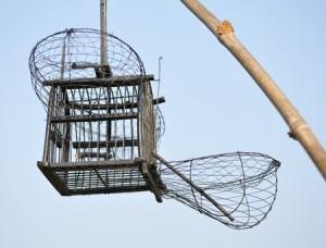 A modern bird snare